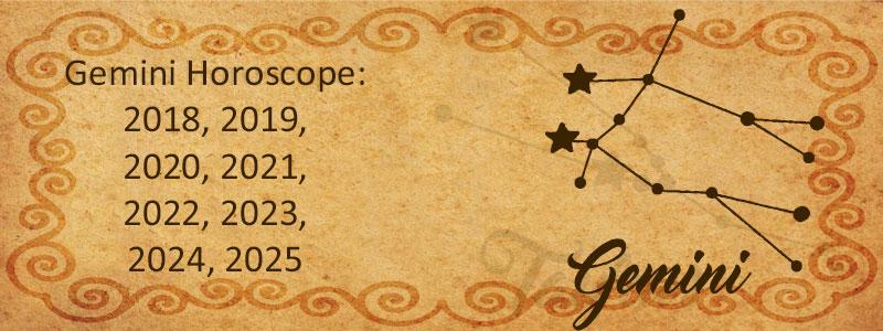 Gemini 2018 Horoscope - Horoscopes of Gemini 2018