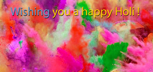 Get holi sms and text messages, which is on 24th March 2017