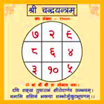 Effect of Chandra Yantra for birth number two (2) people