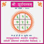 Effect of Surya Yantra for birth number one (1) people